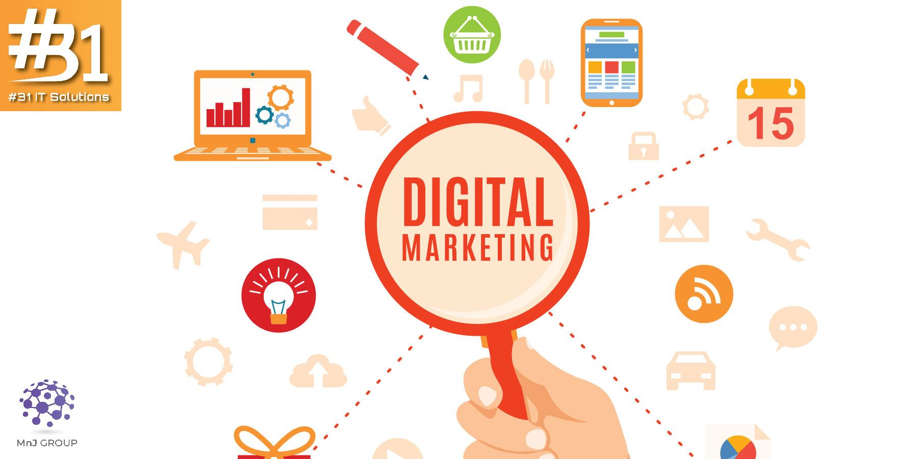 Digital Marketing - #31 IT Solutions, Thiruvala, Kerala